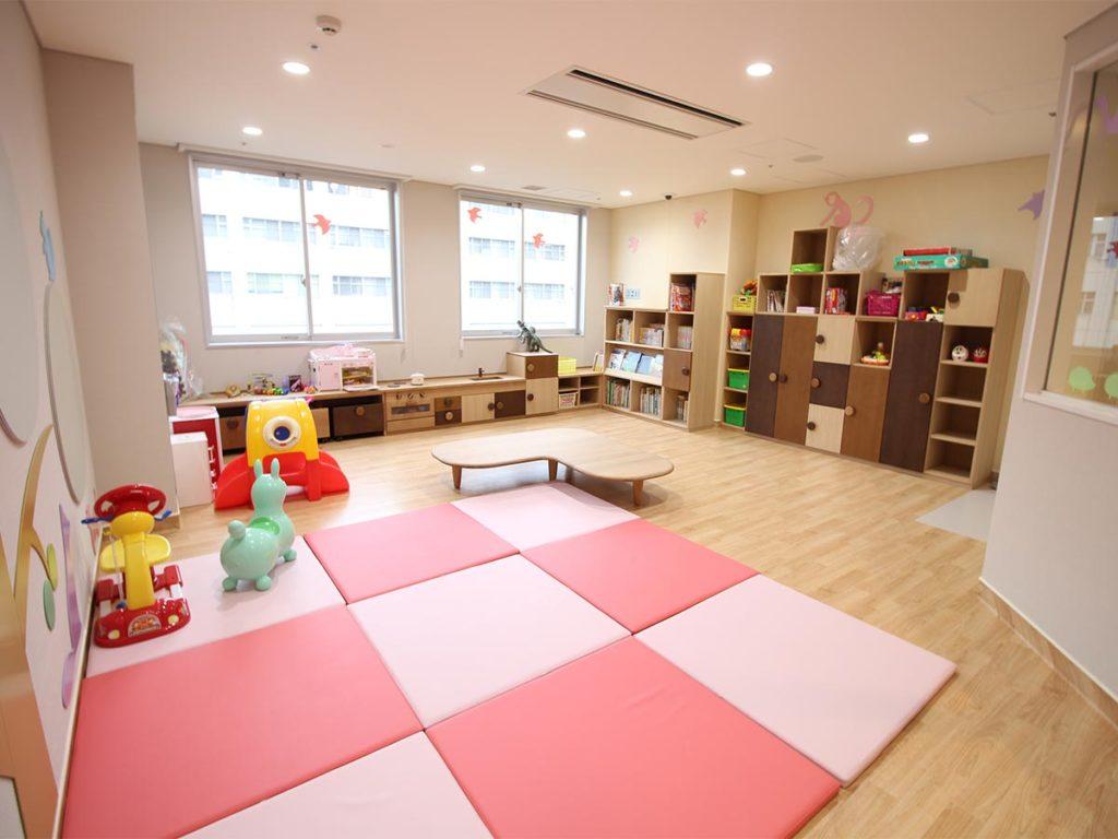 小児病棟のプレイルーム