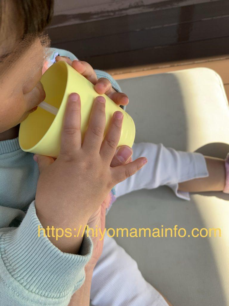 エロイーズカフェ子ども用のコップ